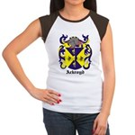 Ackroyd Coat of Arms Women's Cap Sleeve T-Shirt