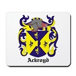 Ackroyd Coat of Arms Mousepad