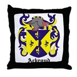 Ackroyd Coat of Arms Throw Pillow