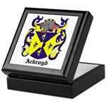 Ackroyd Coat of Arms Keepsake Box