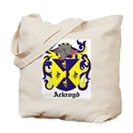 Ackroyd Coat of Arms Tote Bag