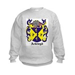 Ackroyd Coat of Arms Kids Sweatshirt