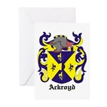 Ackroyd Coat of Arms Greeting Cards (Pk of 10)