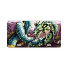 Fantasy Dragon License Plate