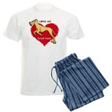 Love Fawn Dane UC pajamas
