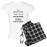 Great Dane Walking Answers pajamas