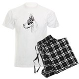 Great Dane HS HLQN Crop (fem) pajamas