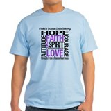 Crohn's Disease Can'tTakeHope T-Shirt