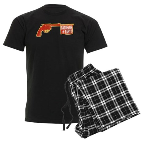 Joke Bachelor Gun Men's Dark Pajamas