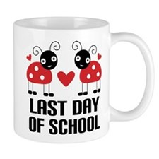 Last Day of School Ladybug Mug
