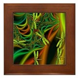 Dragonfly 14 Framed Tile