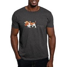 Basset Hound Places T-Shirt