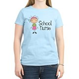 School nurse Womens Light T-shirts