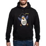 Class of 2011 Penguin Hoodie (dark)