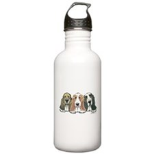 Three Bassets Water Bottle