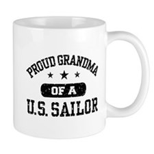Proud Grandma of a US Sailor Mug