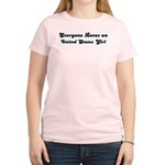 Loves United States Girl Women's Pink T-Shirt