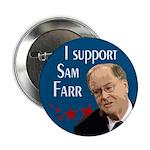 Support Sam Farr campaign button