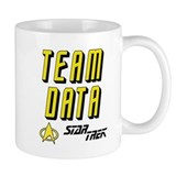 Team Data Star Trek Small Mug