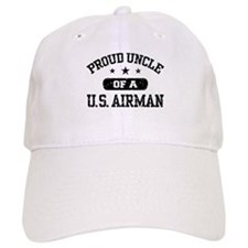 Proud Uncle of a US Airman Baseball Cap