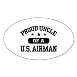 Proud Uncle of a US Airman Bumper Stickers