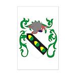 Acker Coat of Arms Mini Poster Print