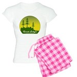 Sunset Lodges Women's Light Pajamas