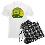 Sunset Lodges Men's Light Pajamas