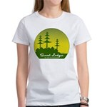 Sunset Lodges Women's T-Shirt