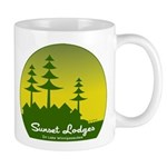 Sunset Lodges Mug