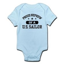 Proud Nephew of a US Sailor Infant Bodysuit