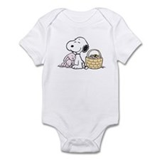 Beagle and Bunny Infant Bodysuit