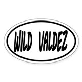 Wild Valdez Oval decal Decal
