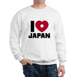 I Love Japan Sweatshirt