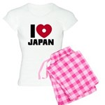 I Love Japan Women's Light Pajamas