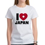 I Love Japan Women's T-Shirt