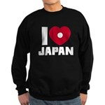 I Love Japan Sweatshirt (dark)