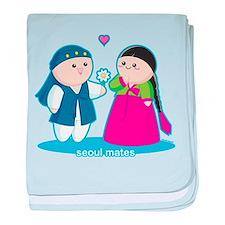 Seoul Mates baby blanket