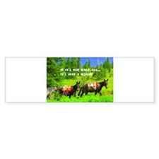 Mule Bumper Sticker