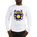 Abrams Coat of Arms Long Sleeve T-Shirt
