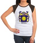 Abrams Coat of Arms Women's Cap Sleeve T-Shirt