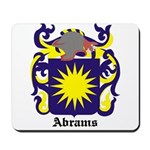 Abrams Coat of Arms Mousepad
