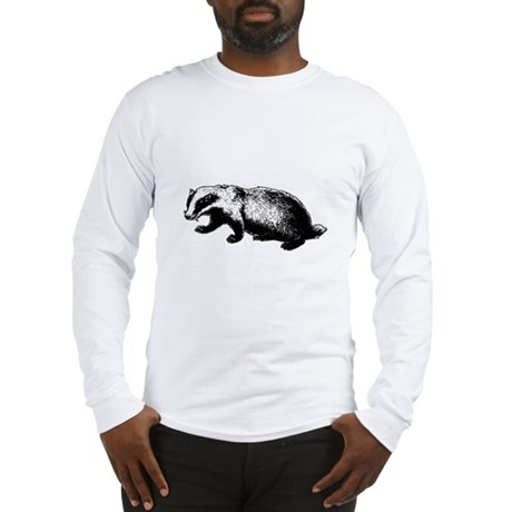 Honey Badger Doesn't Care Long Sleeve T-Shirt
