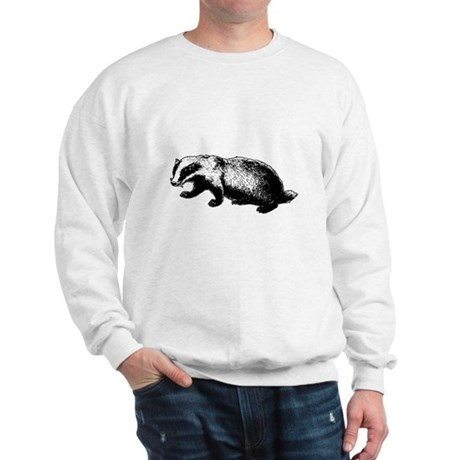 Honey Badger Doesn't Care Sweatshirt