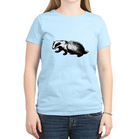 Honey Badger Doesn't Care Womens Light T-Shirt