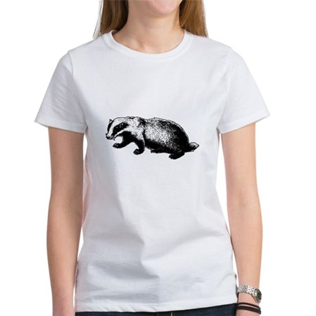 Honey Badger Doesn't Care Womens T-Shirt