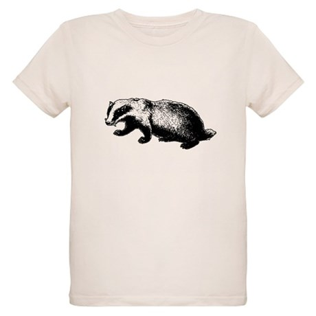 Honey Badger Doesn't Care Organic Kids T-Shirt