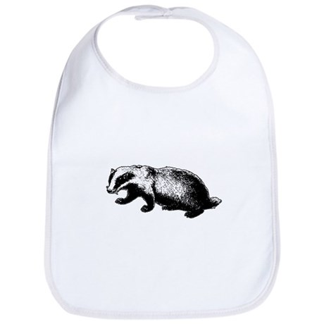 Honey Badger Doesn't Care Bib