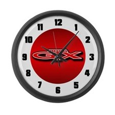 Plymouth GTX Large Wall Clock