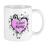 I Heart Vaping Small Mug